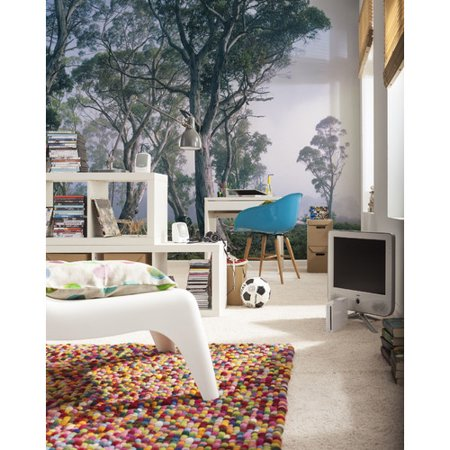 Brewster home fashions komar fantasy forest 144 39 x 100 for Brewster home fashions komar wall mural