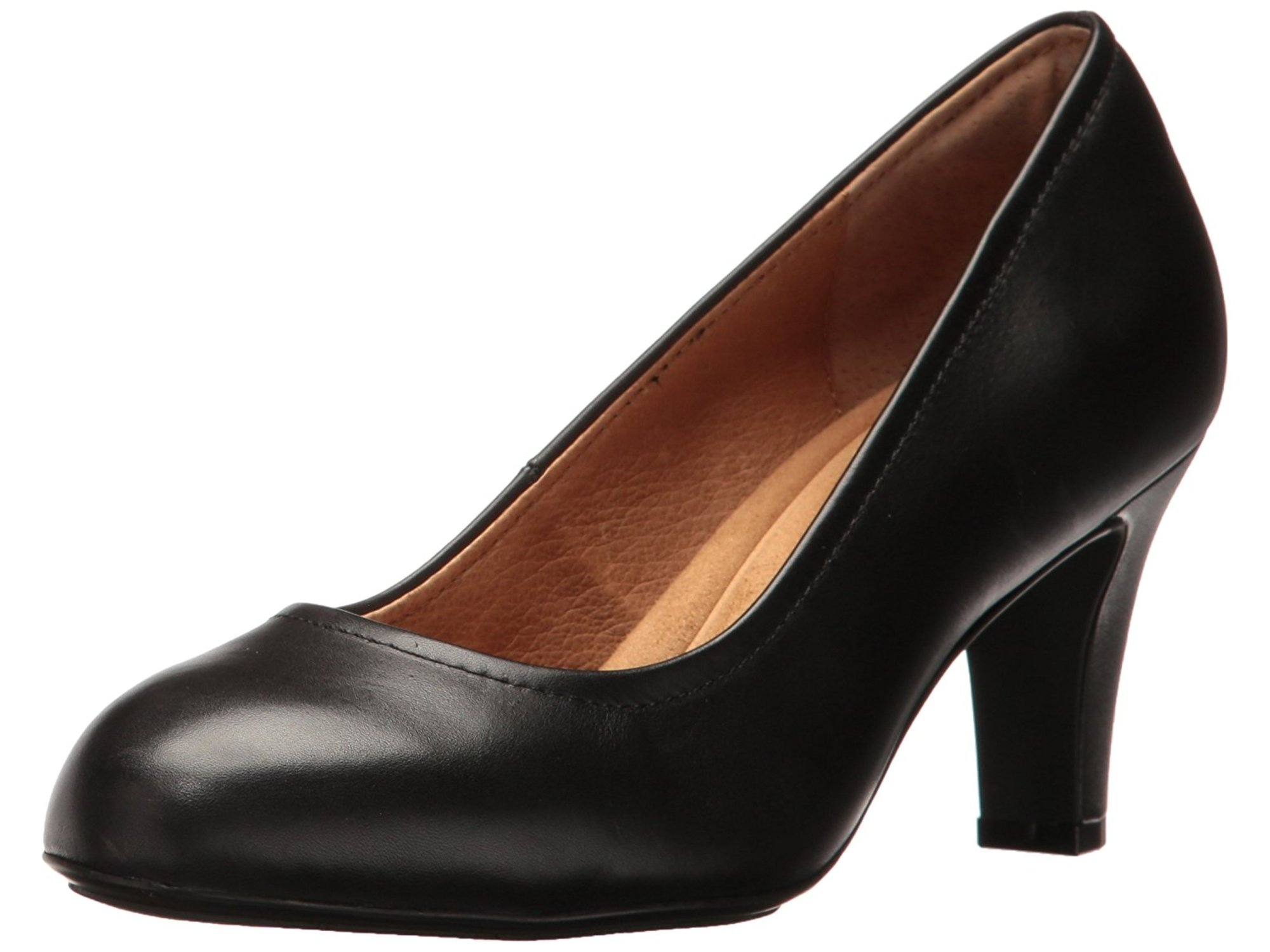 Sofft Womens Turin Leather Closed Toe Classic Pumps by Sofft