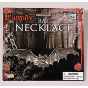 Gothic Bat Costume Necklace Accessory
