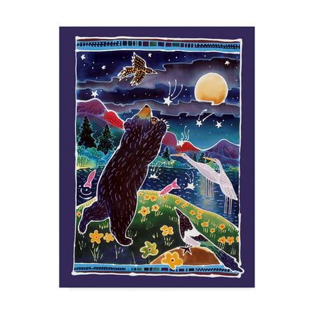 Trademark Fine Art 'Catch A Shooting Star' Canvas Art by Harriet Peck