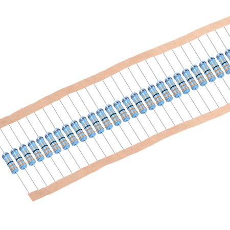 1W 33 Ohms Résistances à couche métallique 1% tolérance 30Pcs - image 4 de 4