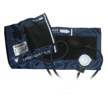 Ever Dixie USA Ever Dixie Large Adult Blood Pressure Blood Pressure Cuff Set With Case, Navy Blue