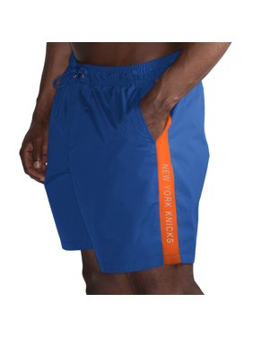 f70e35583e Product Image New York Knicks G-III Sports by Carl Banks Volley Swim Trunks  - Blue/