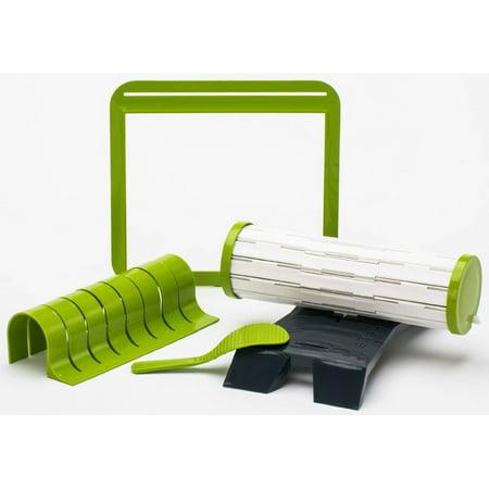 Sushi Making Kit DIY Easy Sushi Maker Machine Set Rice Roller Mold Roller Cutter Kitchen Accessories
