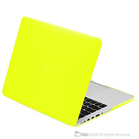 Top Case Powerbook (TOP CASE - Retina 13-Inch Rubberized Hard Case Cover for MacBook Pro 13.3