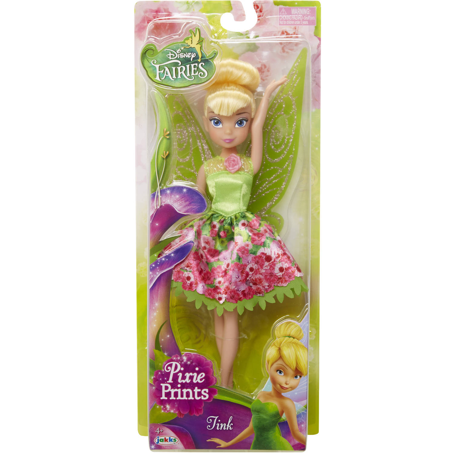 """Disney Fairy 9"""" Tink Classic Fashion Doll, Floral by"""