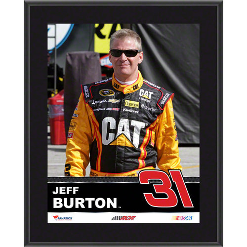 Jeff Burton Sublimated 10x13 Plaque