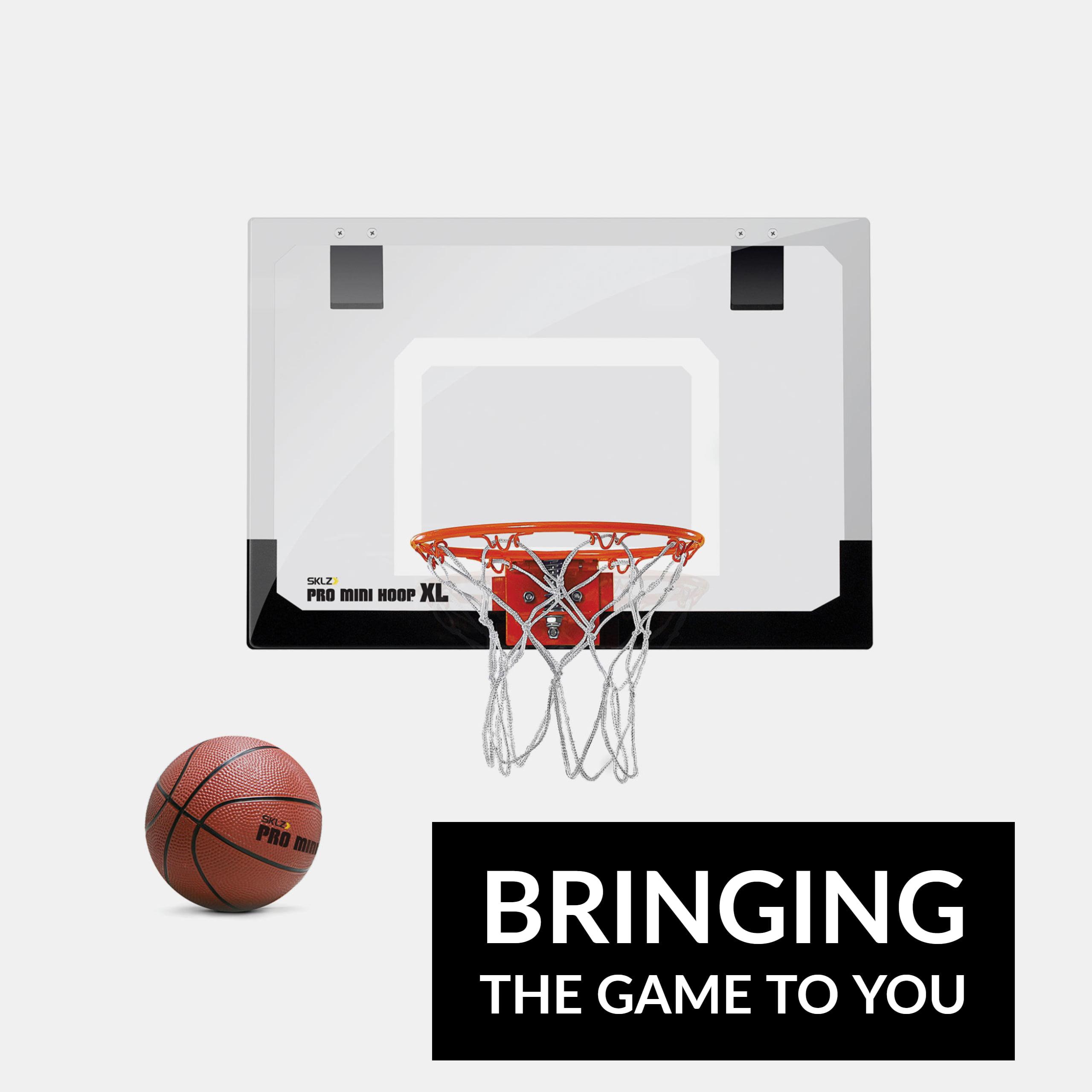 SKLZ Pro Mini Mounting Basketball Hoop with XL Backboard - Walmart.com ff3168b208