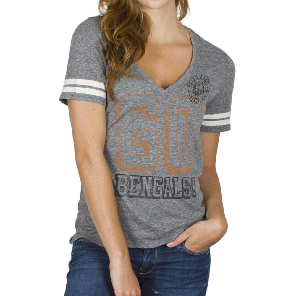 Cincinnati Bengals - Tailgate Juniors Jersey T-Shirt