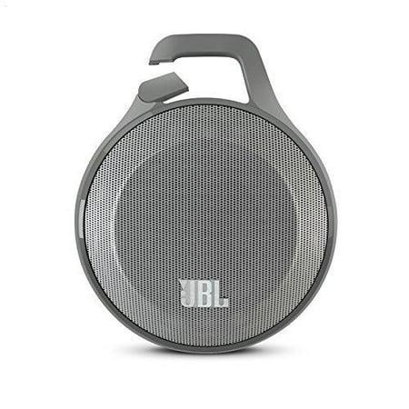 JBL JBLCLIPGRY Portable Bluetooth Speaker Gray