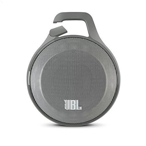 JBL Clip Ultra Portable Bluetooth Speaker with Carabiner - Gray