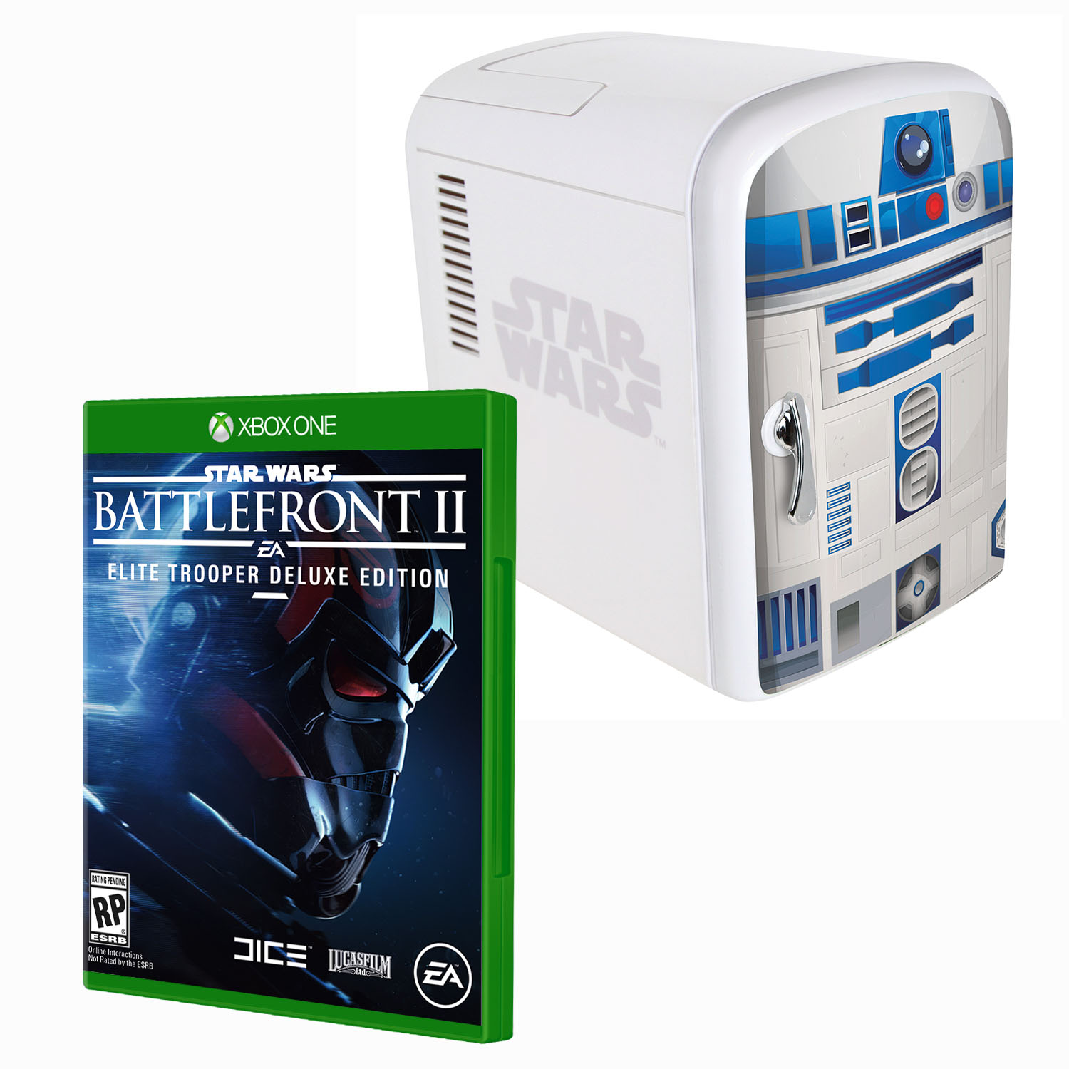 Battlefront 2 Deluxe Edition XBX1 R2D2 Fridge Bundle(Xbox One)