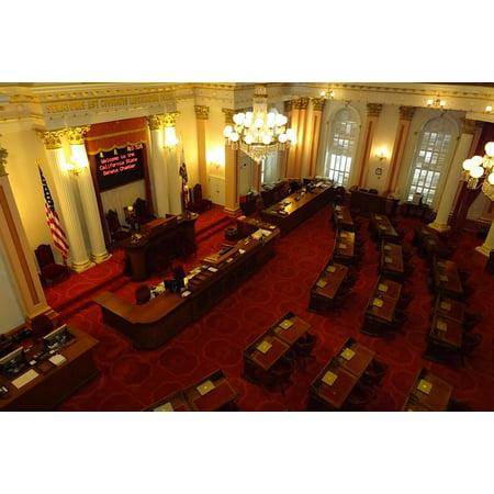 Canvas Print Building Hall Legislature Senate Capitol Stretched Canvas 10 x (Legislative Building)