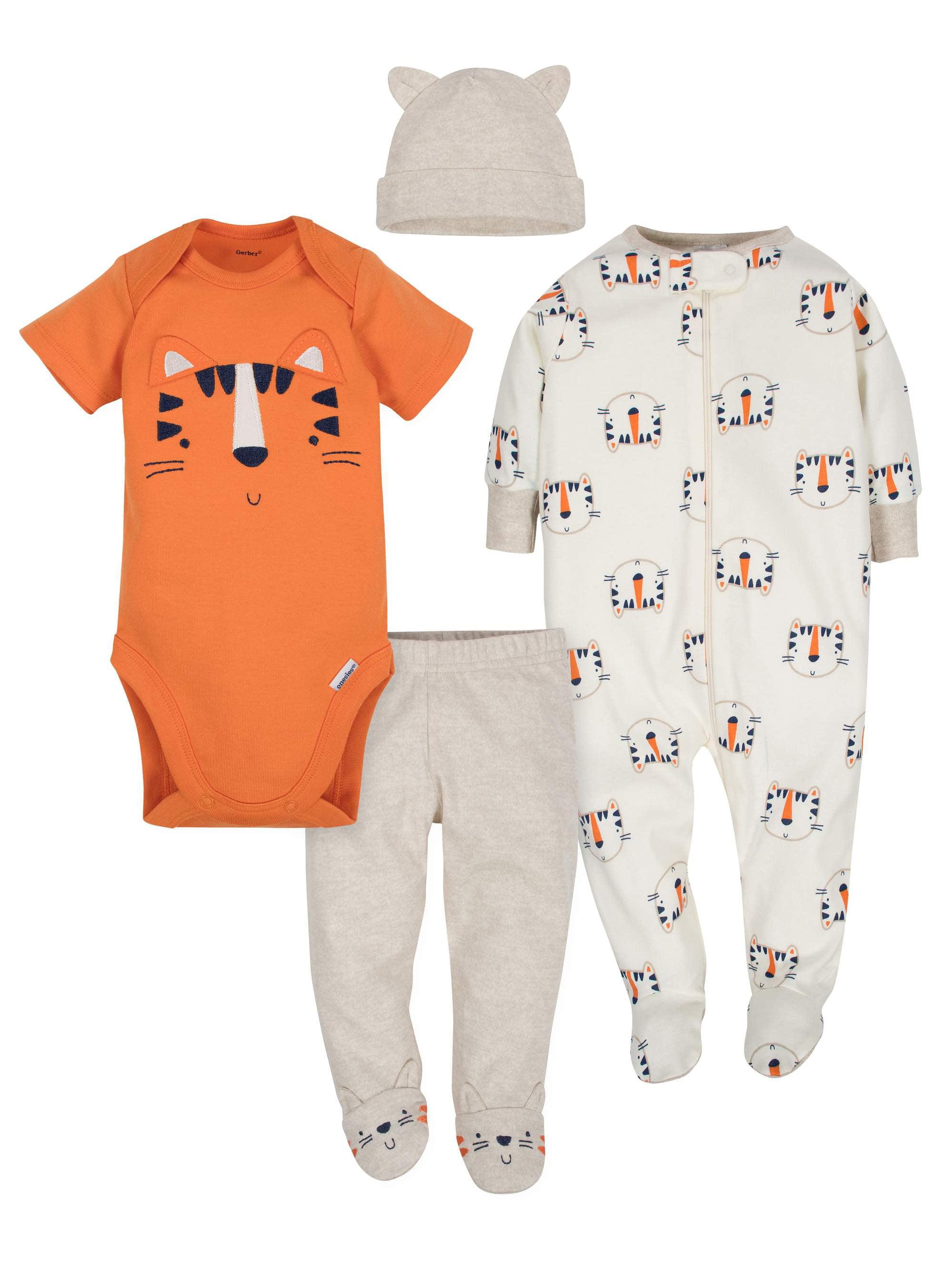 Take Me Home Outfit Set, 4pc (Baby Boy)