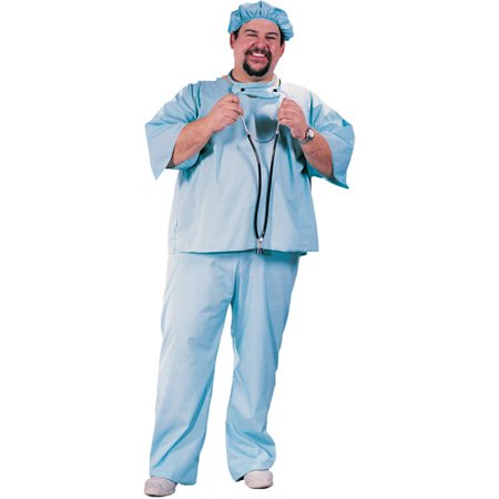 Dr Adult Plus Halloween Costume, Size: Up to 300 lbs - One - 300 Queen Halloween Costume