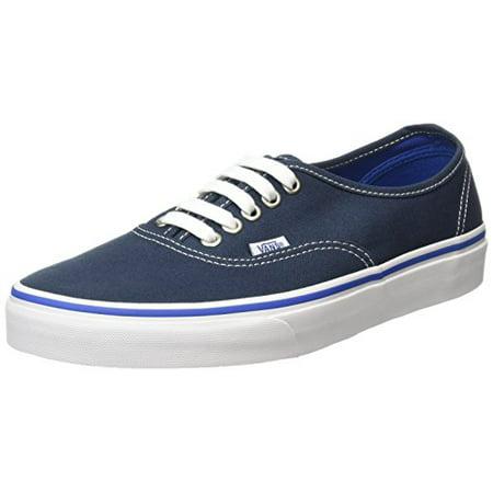 0ab1a4ff42 Vans - Vans 4MLJPV  Authentic Core Lo Midnight-NAVY Classic Canvas Sneaker  Youth Adult (7 B(M) US Women   5.5 D(M) US Men) - Walmart.com