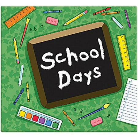 MBI School Days Album, 12 by 12-Inch, Green