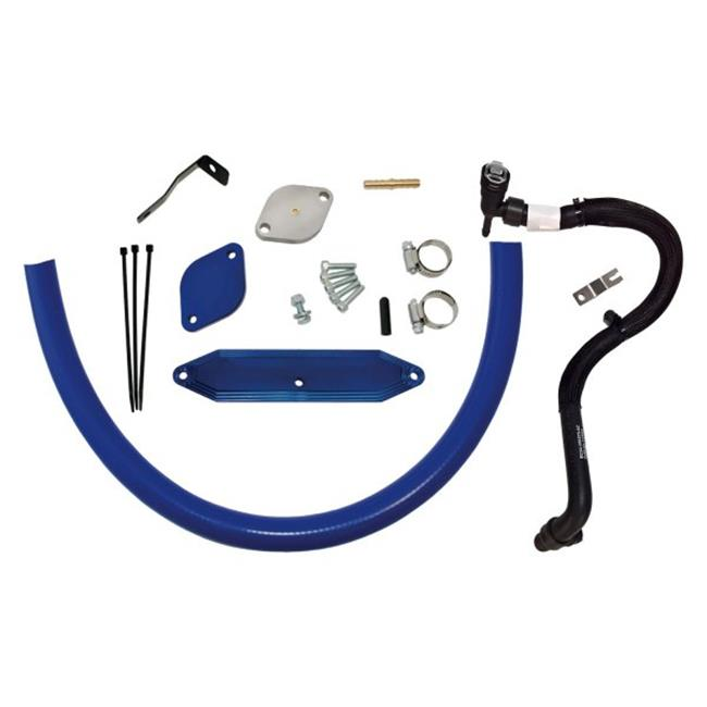 EGR Cooler Delete Kit with Coolant Re-Route Hoses for 2015-2016 Ford 6.7L - image 1 of 1