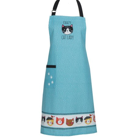 Kay Dee Crazy Cat Lady Chef Apron - 34