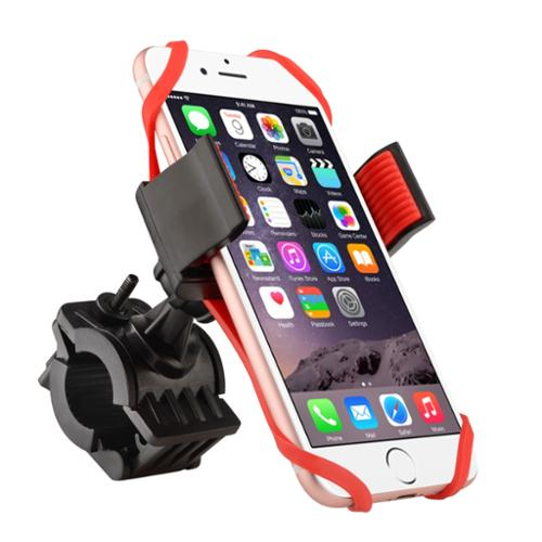 "Insten Bike Bicycle Motorcycle Universal Phone Holder with Secure Grip & 360 Adjustable Ball Head Ram Mount (Width: 2.16 - 3.15"") for all iPhone X 7 8 6s Plus 5s 5 SE Samsung S9+ S9 S8 Cell GPS Device"