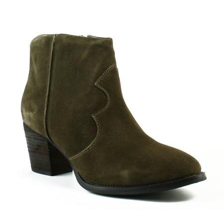 Seychelles Womens Jitters Khaki Fashion Boots Size 7.5
