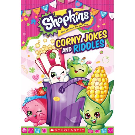 Corny Jokes and Riddles (Shopkins) - eBook