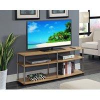 "Convenience Concepts Designs2Go 3 Tier 60"" TV Stand, Light Oak"