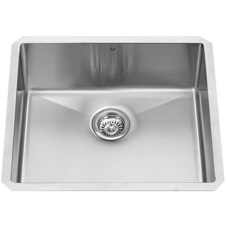 Vigo 23  Undermount Stainless Steel 16 Gauge Stainless Steel Single Kitchen Sink