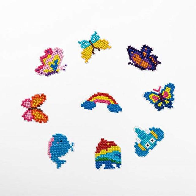 5D DIY Full Drill Diamond Painting Mom Kids Cross Stitch Embroidery Craft Kits