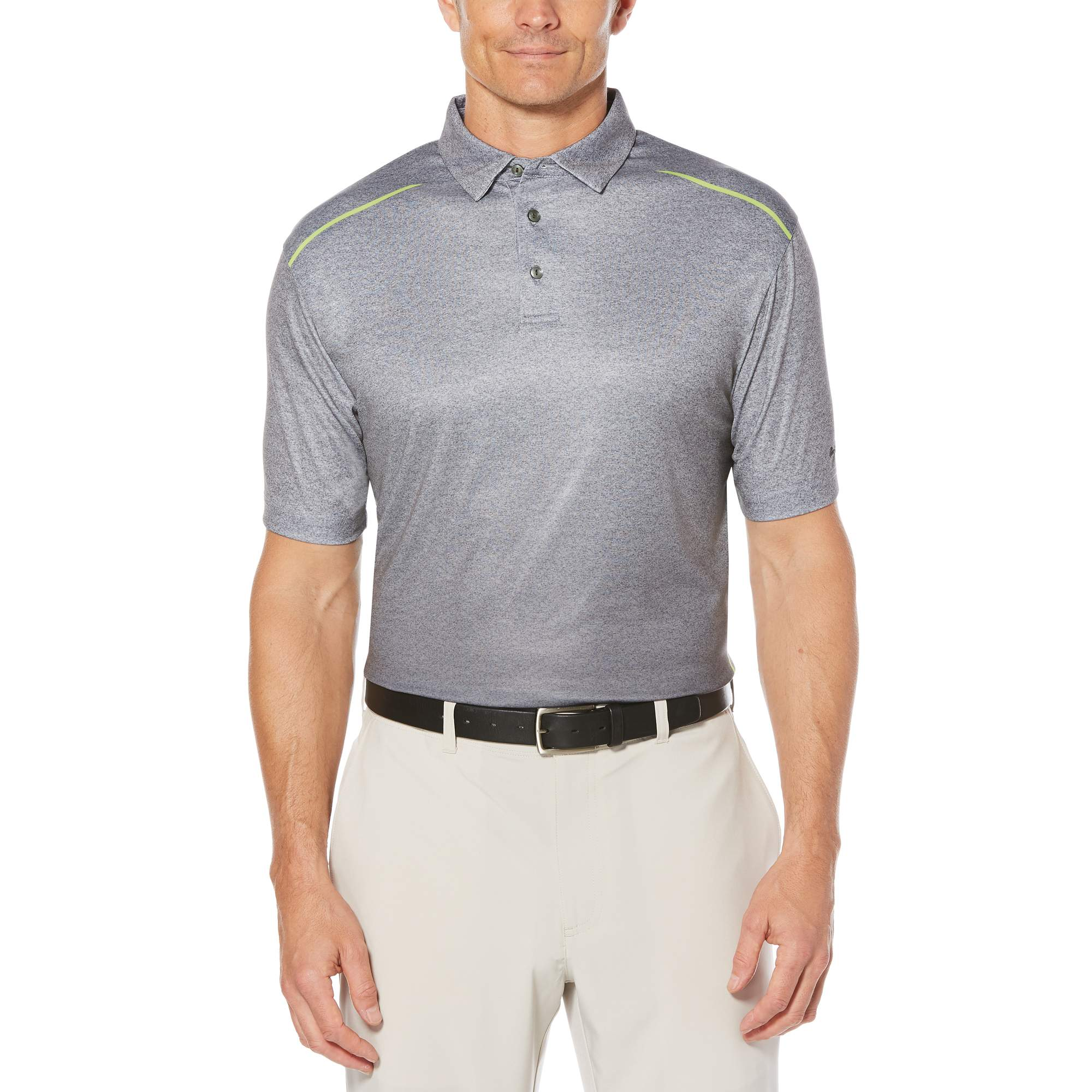Men's Performance Short Sleeve Ombre Printed Golf Polo