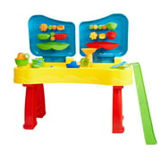KARMAS PRODUCT Sandbox Sand and Water Table Beach Toys Set Beach Play Table Sand for Children