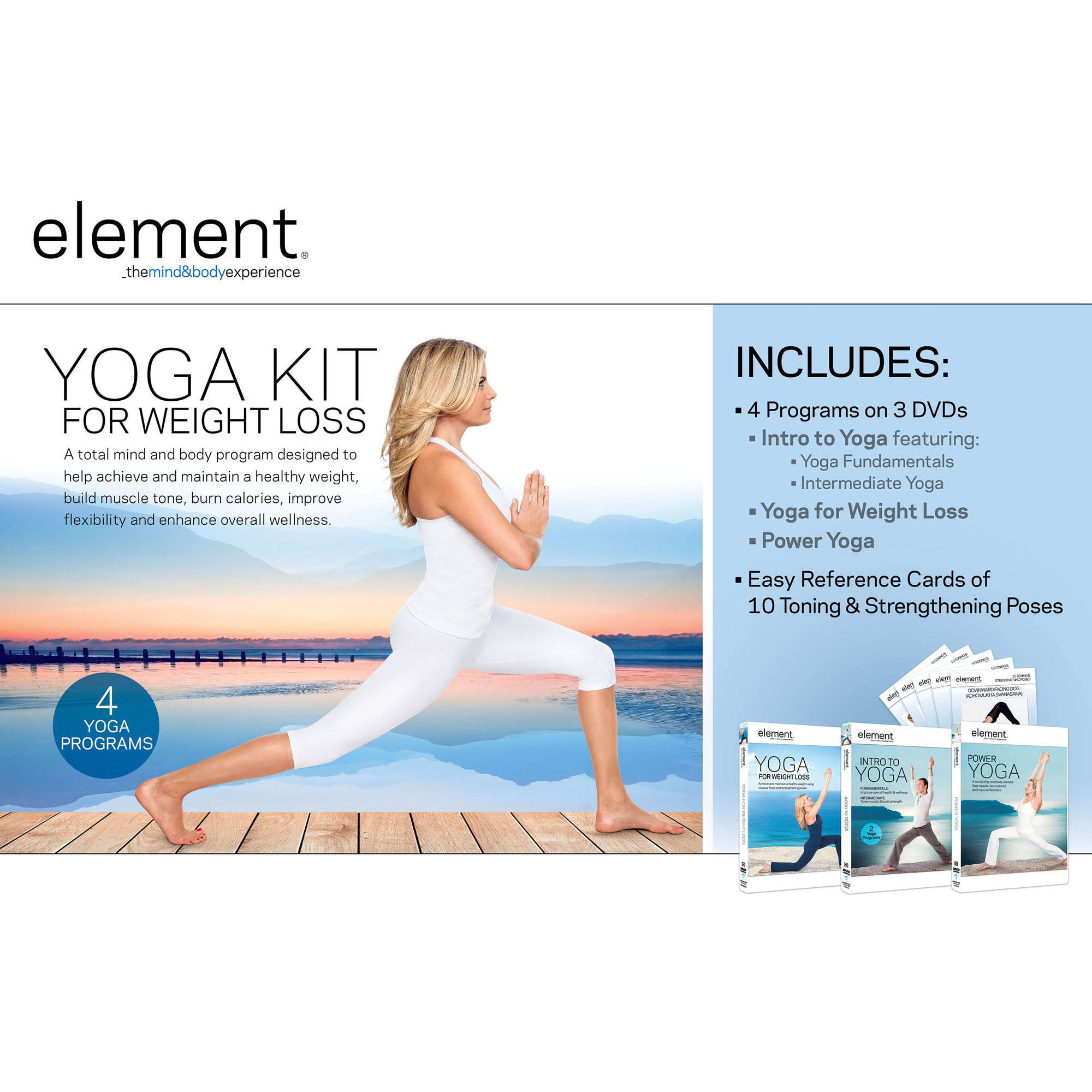 Element: Yoga for Weight Loss Complete Kit
