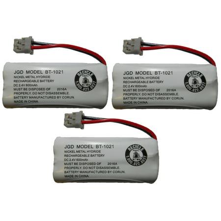 JustGreatDealz HIGH CAPACITY Rechargeable Replacement Battery BT-1021 BBTG0798001 for Uniden Cordless Handsets (Replacement Handset)