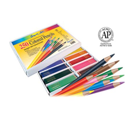 Sargent Art SAR227200 Sargent Art Colored Pencils 250 Pack - image 1 of 1