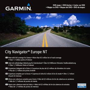Garmin City Navigator Europe Nt Map  Preprogrammed Card