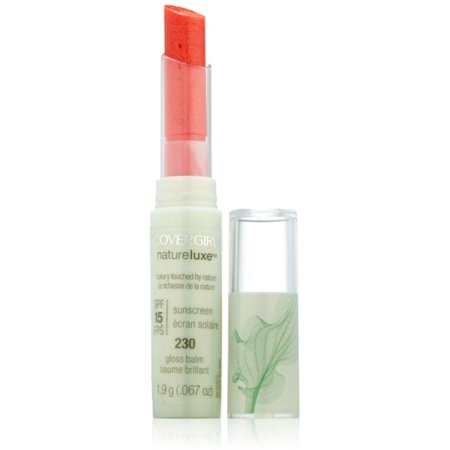 CoverGirl Natureluxe Gloss Balm, Coral [230], 0.067