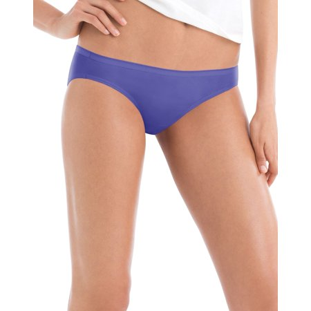 Hanes Women`s 10-Pack Cotton Bikini, 7, Assorted - image 1 de 1