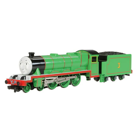 Bachmann Trains HO Scale Thomas & Friends Henry The Green Engine w/ Moving Eyes Locomotive