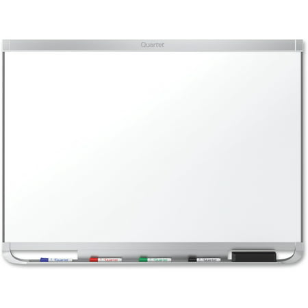 Porcelain Magnetic Whiteboard (Quartet Prestige 2 DuraMax Porcelain Magnetic Whiteboard, 3' x 2', Aluminum)
