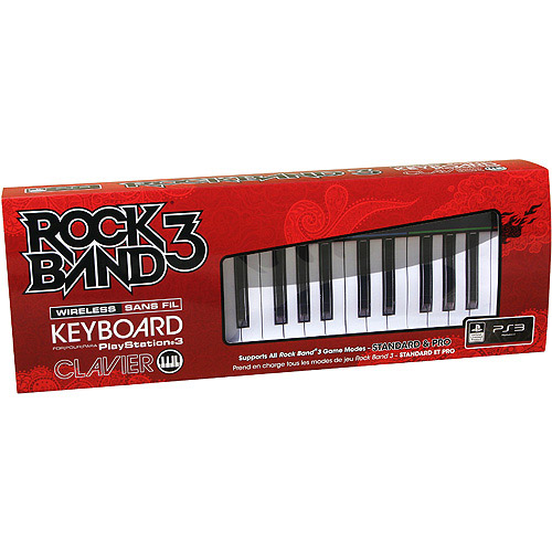 MAD CATZ RB3971610S34/02/1 PlayStation(R) 3 Rock Band(R) 3 Wireless Keyboard