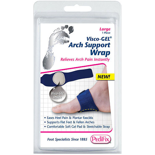 PediFix Visco-GEL Arch Support Wrap, Large