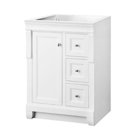 Naples 24 in w x 18 in d x 34 in h vanity cabinet only for Bathroom cabinets naples fl