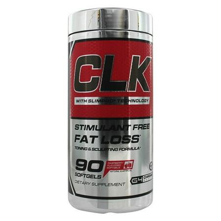 CELLUCOR - CLK tonifiant et sculptant Fat Loss Formula Stimulant-libre - 90 Gélules