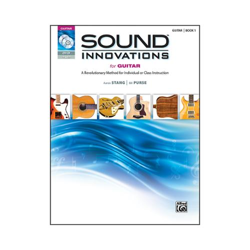 Alfred Sound Innovations for Guitar Book, DVD & MP3 Recordings ,37177 by Alfred Publishing
