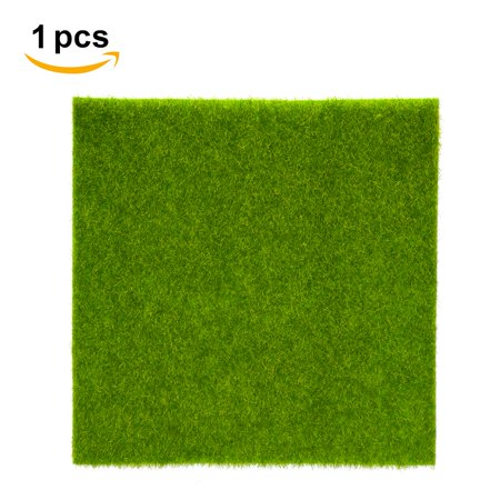 Tebru Deluxe Realistic Artificial Grass Rug Synthetic Thick Lawn Turf Mat Carpet Perfect for Dog Pet Area Indoor/Outdoor Landscape,
