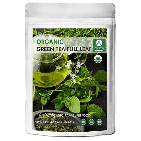 Naturevibe Botanicals Organic Indian Green Tea Full