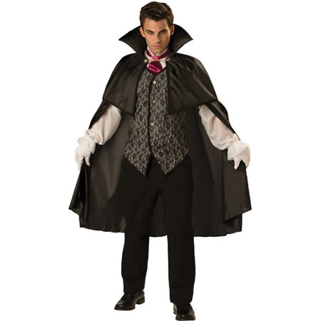 Vampire Adult Halloween Costume - Men Vampire Costumes