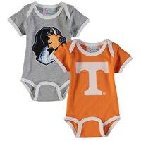 Tennessee Volunteers Newborn & Infant 2-Pack Bodysuit Set - Tennessee Orange/Gray