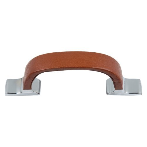 Atlas Homewares Hamptons Collection Leather Cabinet Pull
