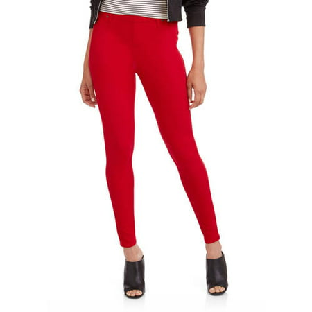 Women's Full Length Knit Color Jegging